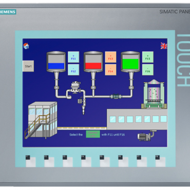 HMI Siemens KTP1000 Basic color DP 6AV6647-0AE11-3AX0